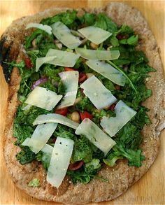A Little Bit Crunchy A Little Bit Rock and Roll: Grilled Salad Pizza