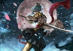 Seven Knights (Korea) Fantasy Character Design, Character Concept, Character Inspiration, Character Art, Concept Art, Seven Knight, Knight Art, Magi Kingdom Of Magic, Female Samurai