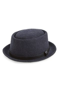 Topman Wool Pork Pie Hat Pork Pie Hat 0e28fd905f09