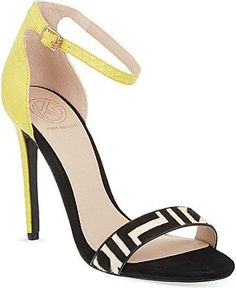 Pin for Later: 24 Pairs of Spring Shoes That Make a Serious Statement  KG Kurt Geiger Joy Heeled Sandals (£99)