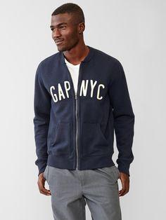 #Gap - NYC Logolu bomber ceket