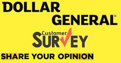 Take a part in dollar general customer survey and get a chance to win $1000 cash.,  #SurveySweepstakes #Win #Cash #Feedback