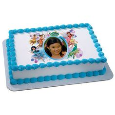 Disney Fairies Dream Party PhotoCakeR Frame Cake Birthday Decorating Pans
