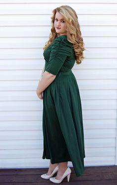 eshakti green goddess dress 20% discount code: HERMBRELL