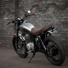 Honda CL400 by Urban Rider #2 - performance through lightweight
