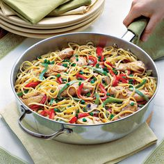 Cajun Chicken Pasta - 31 Classic Mardi Gras Recipes - Southern Living