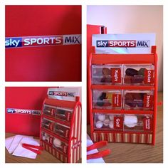 How cute is this?! #SkySportsMix is here! Great wat to advertise that Sky viewers can now watch a mix of live sports as part of their basic subscription packages just like selecting your favourite #SportsMix sweeties
