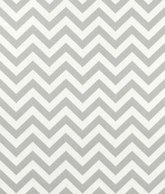 Premier Prints Zig Zag Storm Twill Fabric. Grey and white #chevron #fabric can be used for anything from handbags and throw pillows to curtains and #upholstery.