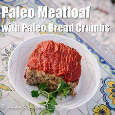 Paleo Meatloaf (Gluten Free, Dairy Free)    http://paleomagazine.com/paleo-meatloaf-recipe-with-paleo-bread-crumbs/   #paleo #gf #glutenfree #recipe #diet