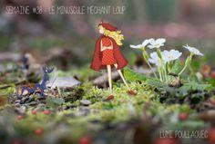 ©Lumi Poullaouec #Chaperon #Rouge #Loup #Photographie #Conte #Illustration