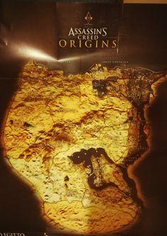 Mappa Egitto assassins creed Origins
