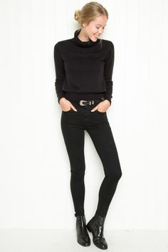 Brandy ♥ Melville | Ardie Turtleneck Sweater - Sweaters - Clothing