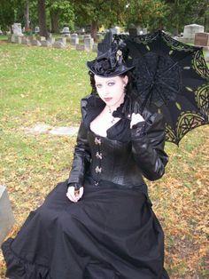 Parasol? Check. Corset? Check. Cemetery? Check.