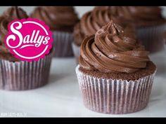 Schokoladencreme Grundrezept für Cupcakes oder Tortenfüllungen / Cake Basics - YouTube