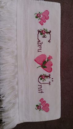 Kanaviçe Linen Napkins, Bed Sheets, Stitch, Wedding, Bath Towels & Washcloths, Cross Stitch Embroidery, Cute Kittens, Hardanger, Towels