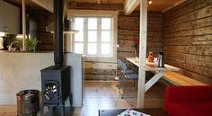 Deze moderne appartementen zijn gevestigd in traditionele vissershuisjes.