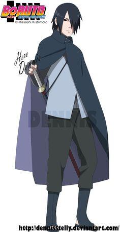 Uchiha Sasuke - Boruto the Movie by DennisStelly on DeviantArt