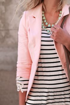 Clearwater Blazer Baby Pink