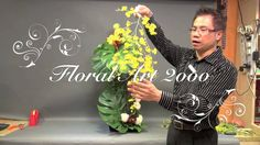 B55 「懸垂組合式插花」 Creative Flower Arrangement-Gordon Lee