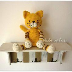 #crochet #crochetcat #amigurumi #amigurumicat #madebyrusi #rusidolls