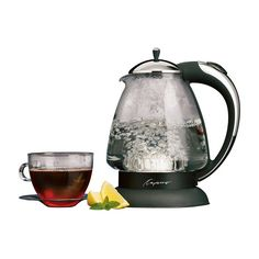Beautiful design + great function = things I love. Capresso H2O Plus 6-Cup Water Kettle - $59.99 @hayneedle