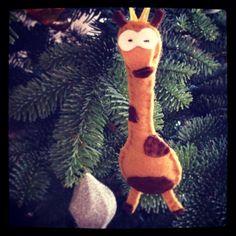 Felt Giraffe.  Handmade by Robinson&Co