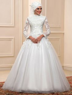 85ecddbc5f2 25 Exciting Islamic Wedding Gowns - dresses for Muslim brides images ...