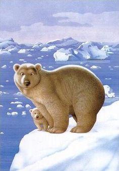 Oso polar   Makoto Muramatsu   Animal art