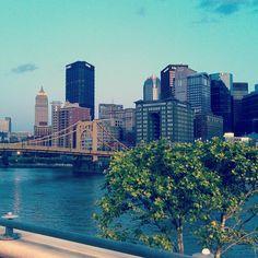 Pittsburgh Love :) Courtesy of @lvallana & @vstpgh