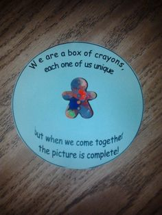 I like the poem, but I'll change it to fit my puzzle piece cultural board! Student Christmas Gifts, Student Gifts, Teacher Gifts, Christmas Ideas, Classroom Organisation, Preschool Classroom, Preschool Crafts, Classroom Ideas, Poems For Students