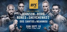 How To Watch UFC 215 On Android