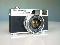 Bell and Howell Canon Camera Canonet 19 SLR by MustyMusts on Etsy https://www.etsy.com/listing/97159426/bell-and-howell-canon-camera-canonet-19