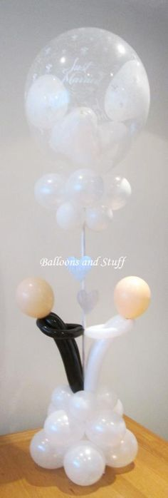 Wedding Balloon Table Centrepiece / Decoration