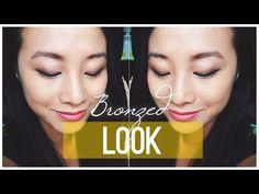 Bronzed Eye Make Up Look ☆   Livia McQueen - YouTube