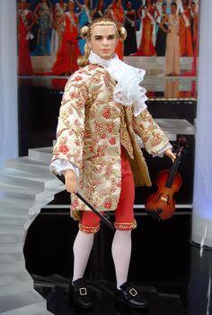 ninimomo.com Austrian Ken   [ken doll] . qw Ken Barbie Doll, Barbie Miss, Vintage Barbie Dolls, Barbie And Ken, Barbie Clothes, Realistic Barbie, Barbie Family, Doll Costume, Period Costumes