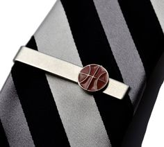 Basketball Tie Clip Gift Box Included Guaranteed by Mancornas, $29.00