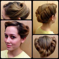 Wondrous My Hair Style And Hair Style On Pinterest Short Hairstyles For Black Women Fulllsitofus