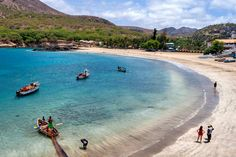 Tarrafal Beach, Santiago Island Cape Verde's best beaches, island by island guide   Weather2Travel.com #travel #beach #capeverde #holiday