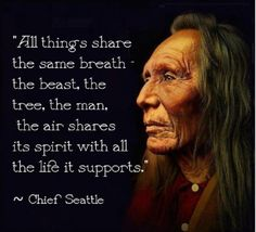 Chief Seattle: All things share ...