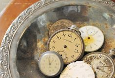 Everyone needs a few collections in their life... especially vintage pocket watches.