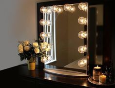 Everything about this #goddess's vanity is seriously so fabulous and elegant…