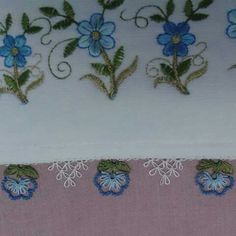 Cicek Needle Lace, Needle And Thread, Decorative Towels, Diy Crafts, Herbs, Lace, Needlepoint, Make Your Own, Homemade