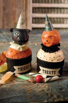 nicole sayre tricks & treats candy boxes