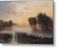 Aleksey Savrasov Landscape with a River - Handmade Oil Painting Reproduction on Canvas Photography Illustration, Art Photography, Abstract Landscape, Landscape Paintings, House Landscape, Russian Landscape, Oil Painting Background, Paintings Famous, Oil Paintings