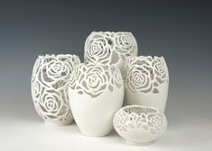 FRESH FROM THE KILN: ROSES