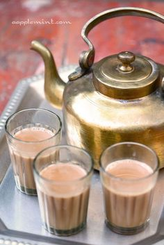 If only we had chai whallahs here!!