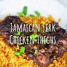 Bring the taste of the Caribbean home with this authentic Jamaican jerk marinade. In five minutes, you can create a delicious jerk marinade to rival anything. Jerk Chicken Marinade, Chicken Marinades, Jerk Chicken Crockpot, The Best Jerk Chicken Recipe, Jerk Chicken And Rice, Shredded Chicken, Jamaican Curry Chicken, Jamaican Jerk Seasoning, Authentic Jerk Seasoning Recipe
