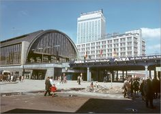 Klaus Morgenstern - DDR - Bahnhof Alexanderplatz 1970