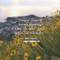 """🌻🌼🌷🌹""""Forgive yourself for not knowing what you didn't know before you learnt it."""" - 🌻🌼🌷🌹""""Forgive yourself for not knowing what you didn't know before you learnt it. Moon Quotes, Peace Quotes, Spiritual Quotes, Wisdom Quotes, Words Quotes, Positive Quotes, Life Quotes, Love Nature Quotes, Humility Quotes"""