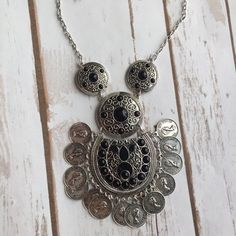 Electra Boho Necklace (Black)
